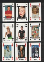 Collectible playing cards. Live & Kicking magazine. Kylie, Take That, Madonna